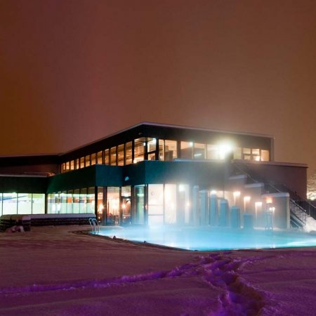 Therme im Winter | © Alpentherme Ehrenberg